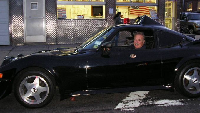 La Batmobile in giro per New York