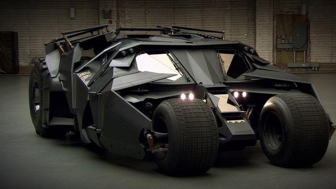 La Batmobile Tumbler della trilogia di Christopher Nolan