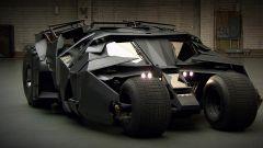 La Batmobile Tumbler della trilogia diretta da Christopher Nolan