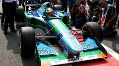 La Benetton B194 di Michael Schumacher