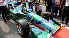 La Benetton di Michael Schumacher (2)
