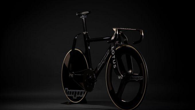 La bici di Lotus e Hope