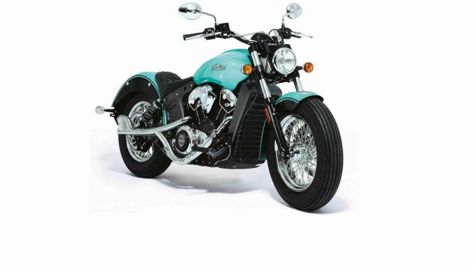 La Blue Indian Scout by Tiffany's