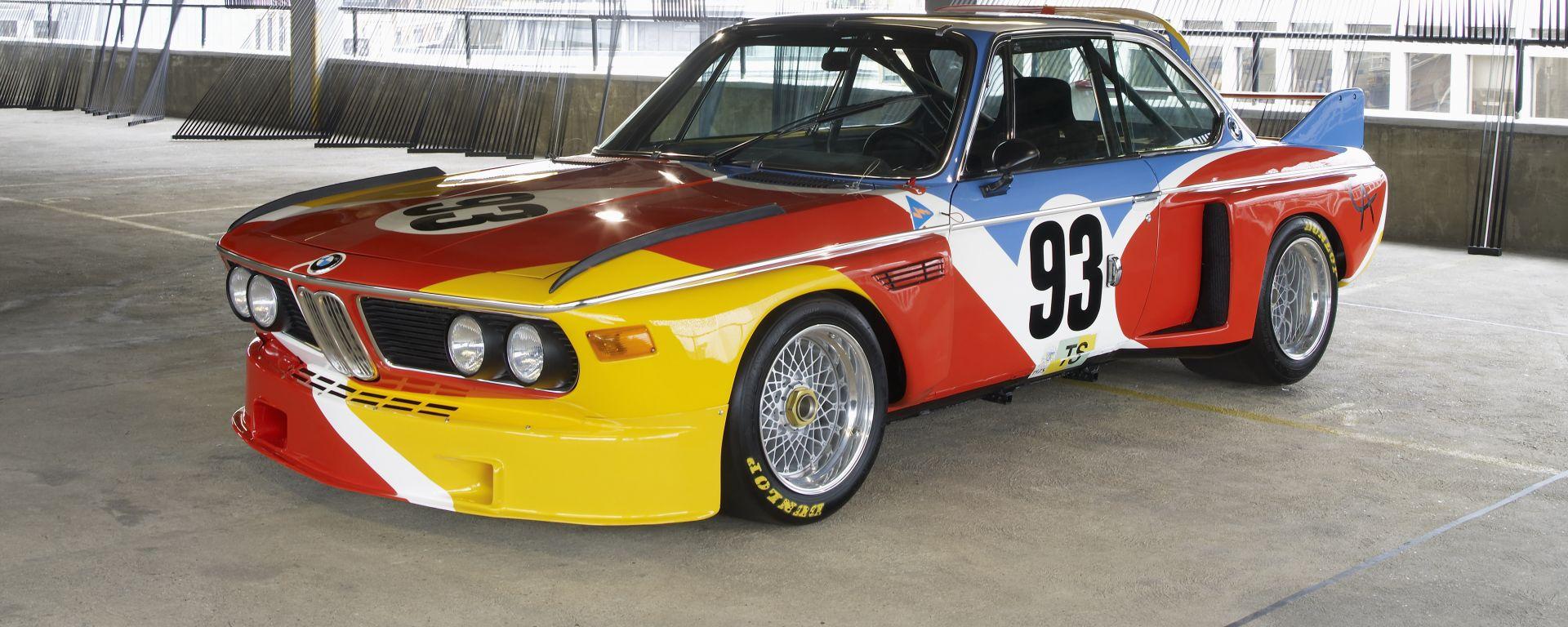 La BMW 3.0 CSL by Alexander Calder in mostra per La Milanesiana