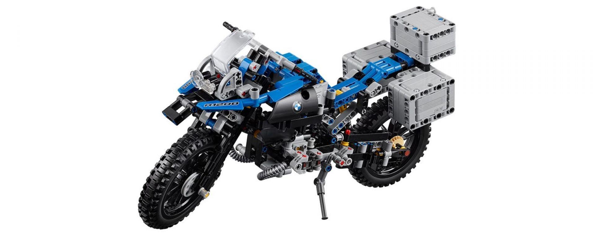 La BMW GS Adventure di Lego Technic