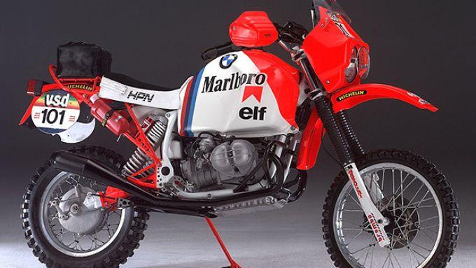 La BMW GS che corse la Parigi-Dakar 1986