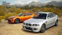 La BMW M3 Coupe (2003) e la Toyota 86 GT Limited (2016)
