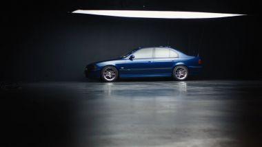 La BMW M5 E39 utilizzata nel tentativo di Roy e Maher del 2006