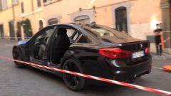 La BMW M5 senza portiere sul set di Mission Impossible 7