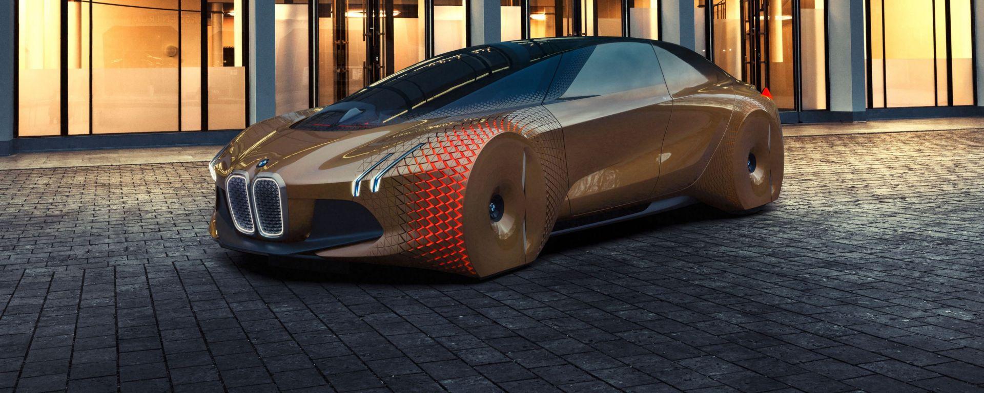 La BMW Vision Next 100, concept presentata per festeggiare i primi 100 anni del marchio