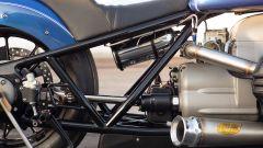 La bombola di NOS presente sulla BMW R 18 Dragster by Roland Sands