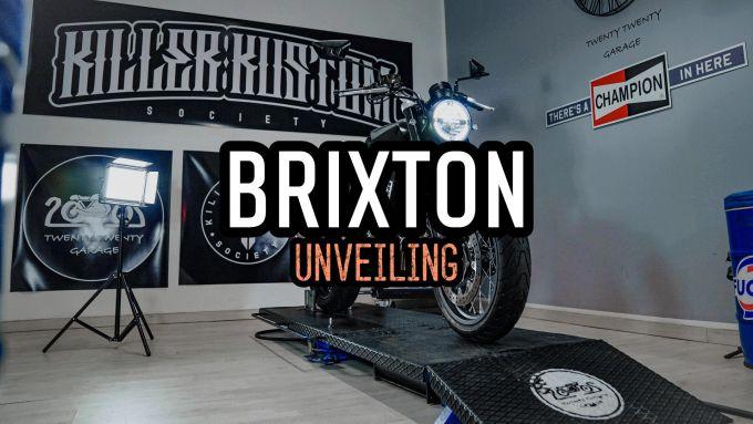 La Brixton special su base Crossfire 500 sarà svelata a Salsomaggiore