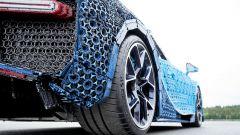 La Bugatti Chiron di Lego: dettaglio del posteriore