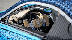 La Bugatti Chiron di Lego: dettaglio del volante