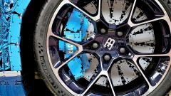 La Bugatti Chiron di Lego: il freno a disco è funzionante