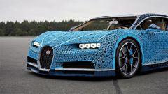 La Bugatti Chiron di Lego: la firma luminosa