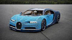 La Bugatti Chiron di Lego
