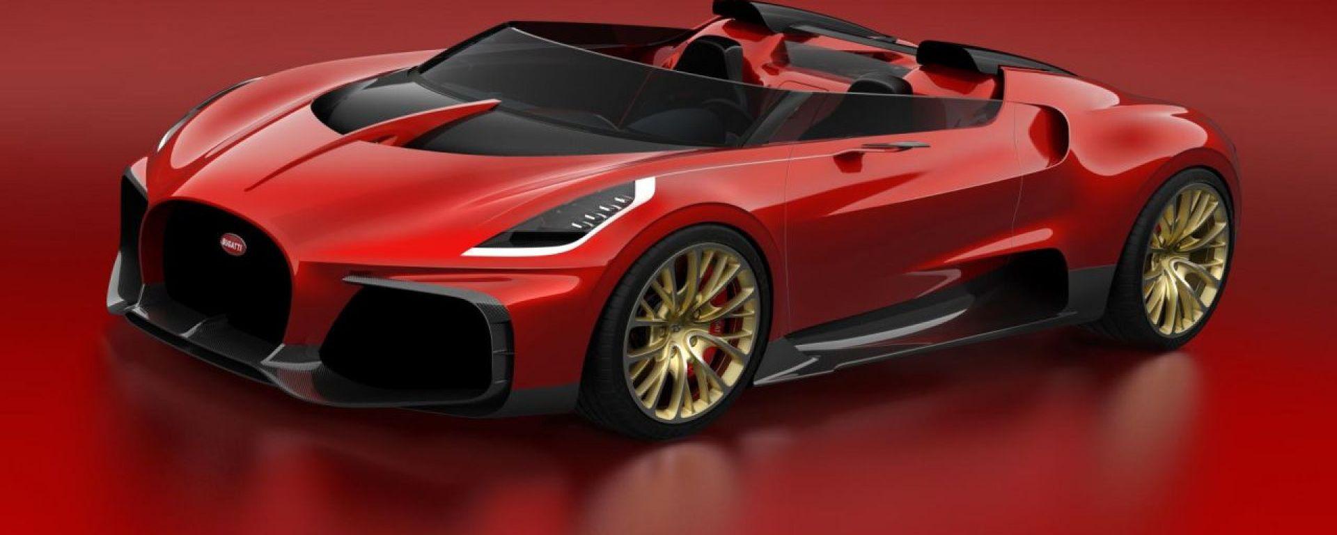 La Bugatti Veyron Barchetta che non fu mai realizzata