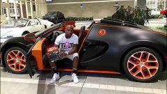 La Bugatti Veyron Grand Vitesse del 2015 comprata dal pugile americano