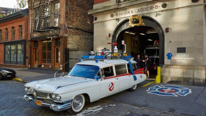La Cadillac Ecto-1 di Ghostbusters