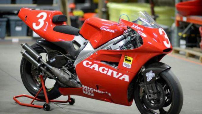 La Cagiva V593 di Kocinski