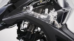 La carena trasparente del Kymco CV3 2020