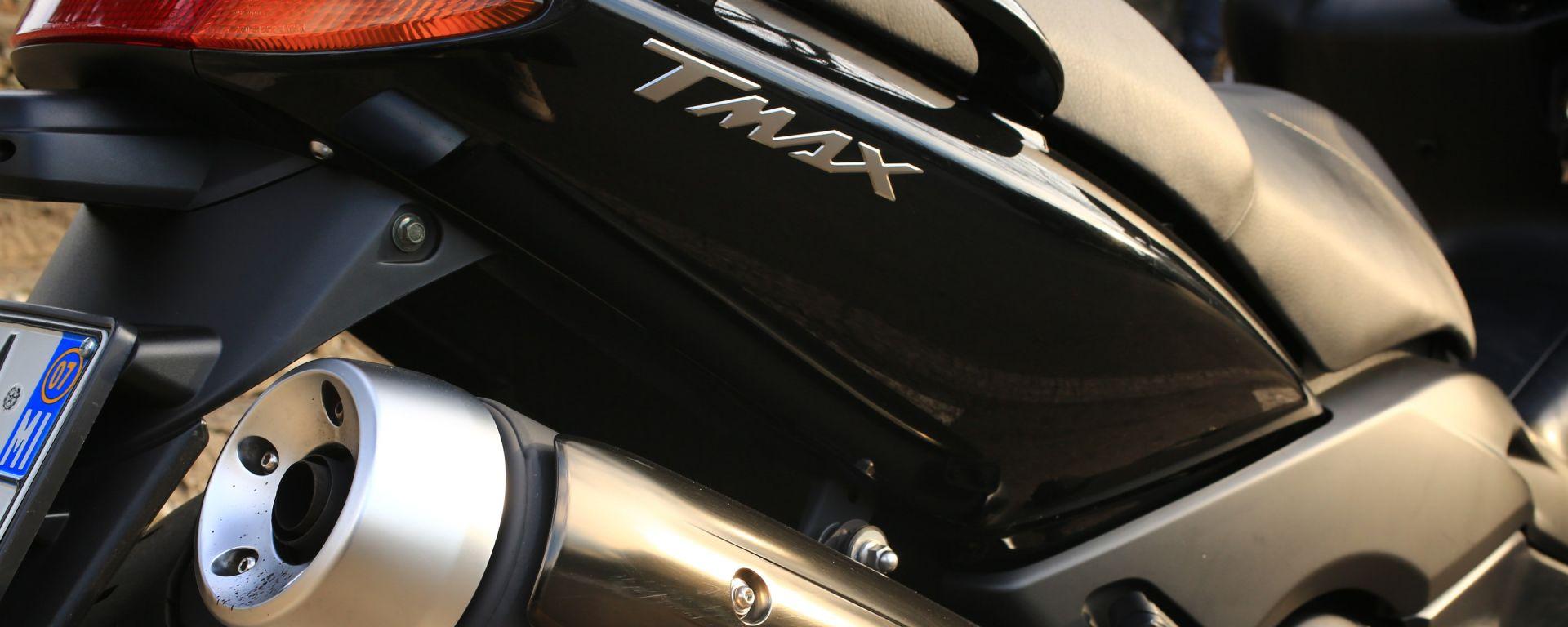 La carta d'identità dello Yamaha TMax