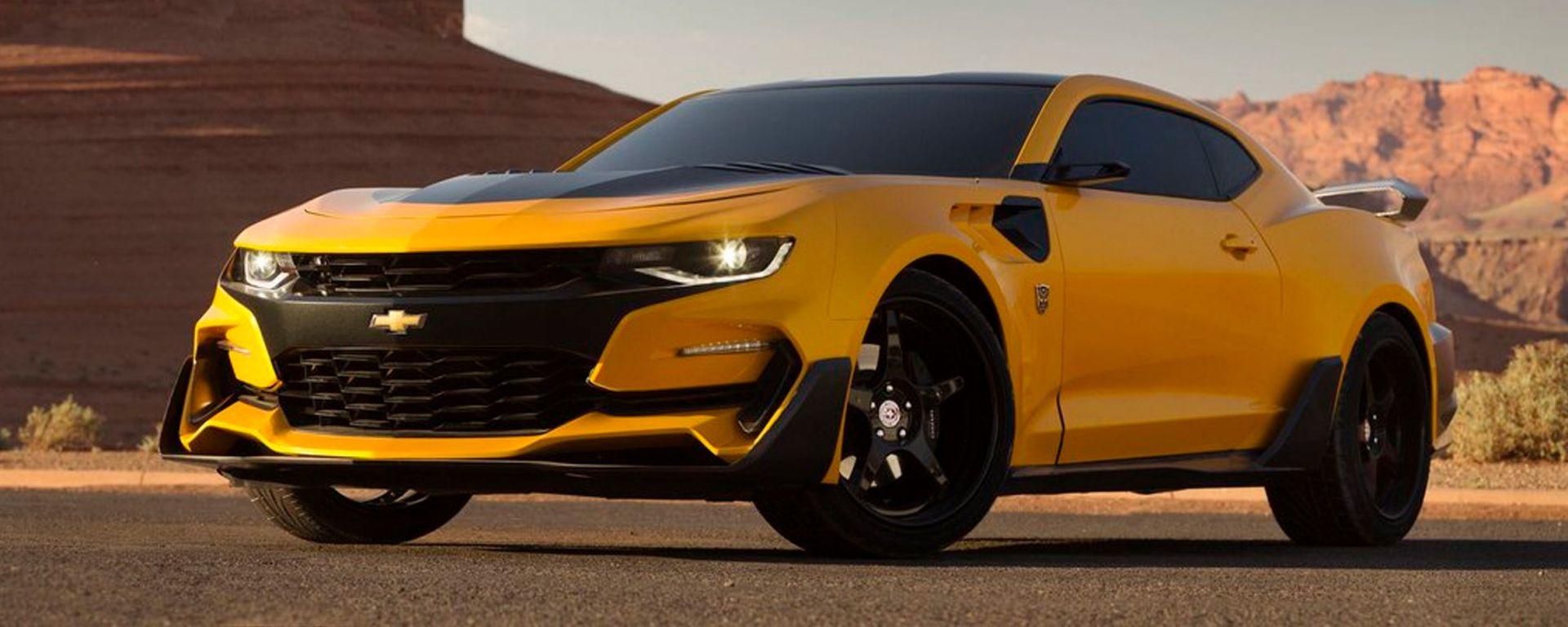 La Chevrolet Camaro che interpreterà Bumblebee in Transformers: The Last Knight