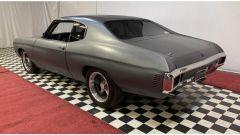La Chevrolet Chevelle SS del 1970 del quarto Fast and Furious vista di 3/4 posteriore