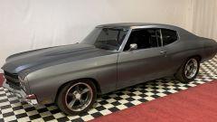 La Chevrolet Chevelle SS del 1970 del quarto Fast and Furious vista di lato