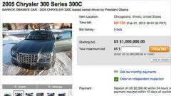 La Chrysler 300C di Obama all'asta su eBay
