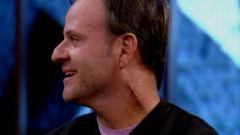 La cicatrice sul collo di Rubens Barrichello dopo il tumore