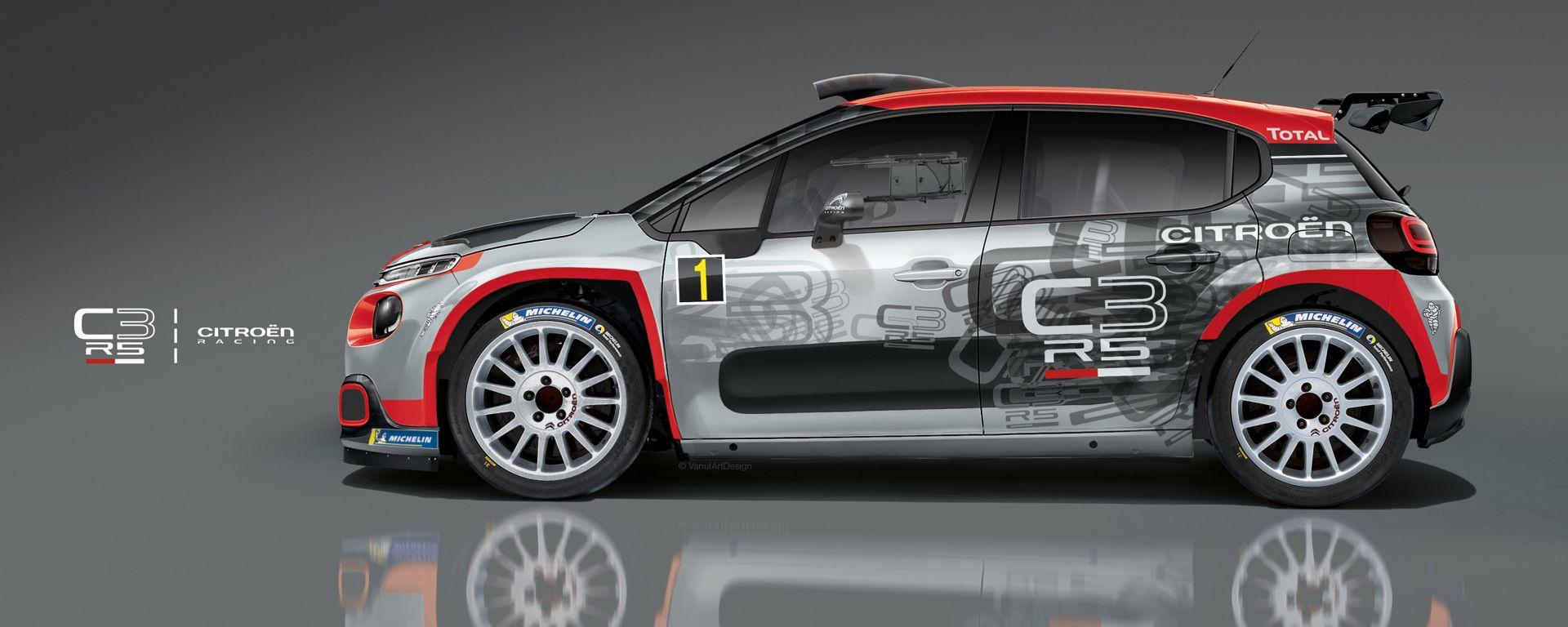 La Citroen C3 R5 debutta nel FIA WRC 2