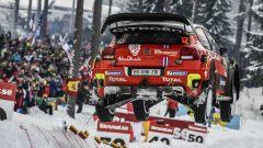 La Citroen C3 WRC di Ostberg al Colin's Crest