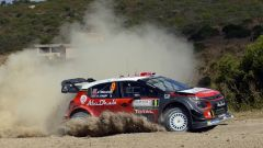 La Citroen C3 WRC - Rally Italia Sardegna