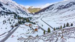 La città di Davos in Svizzera