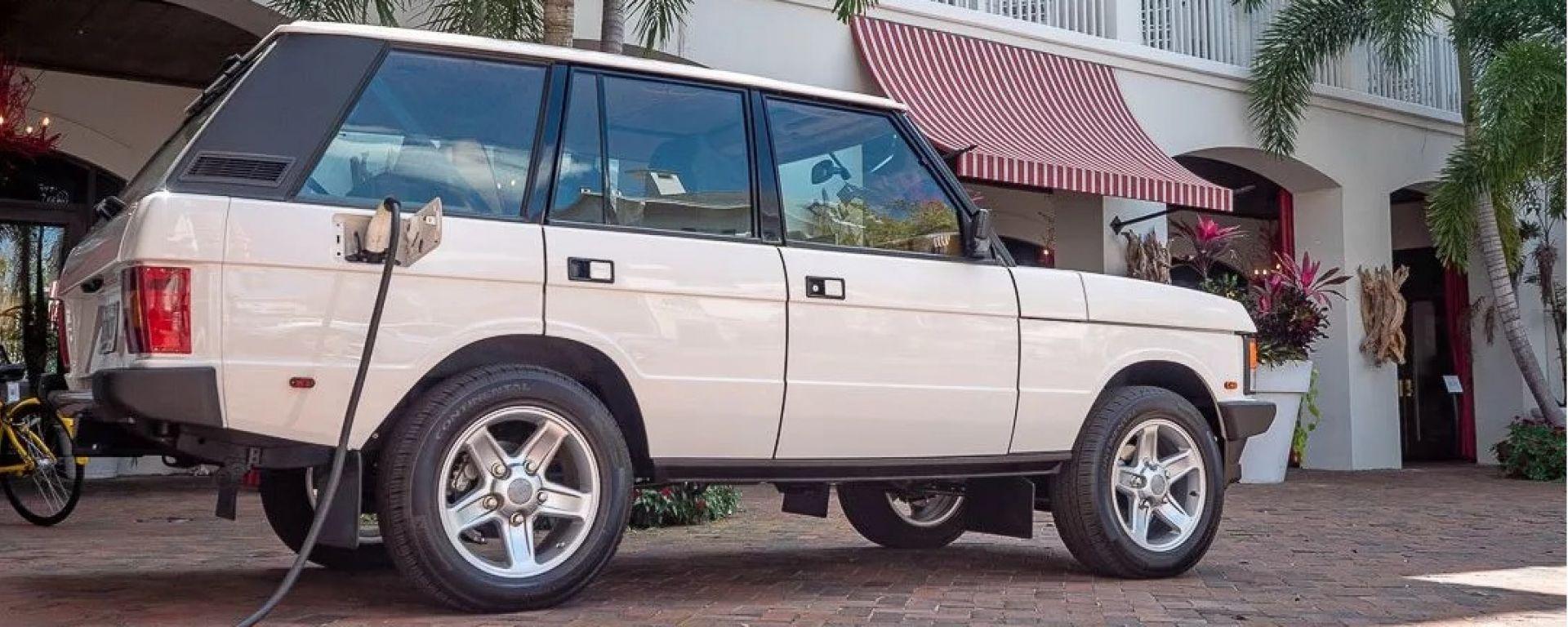 La classica Range Rover con motore e batterie Tesla: il restomod di E.D.C. Automotive Design