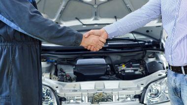 La compravendita di un'auto usata