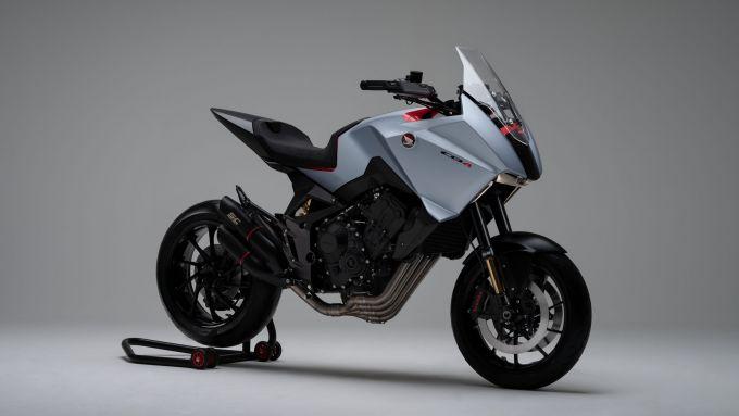 La concept Honda CB4 X