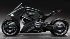 La concept Honda per Scarlett Johansson: vista laterale