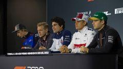 La conferenza stampa di Interlagos con Hartley, Magnussen, Stroll, Ericsson e Vandoorne