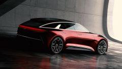 La configurazione della Kia Proceed Concept è di tipo shooting brake