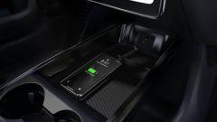 La console centrale del Ford Mustang Mach-E