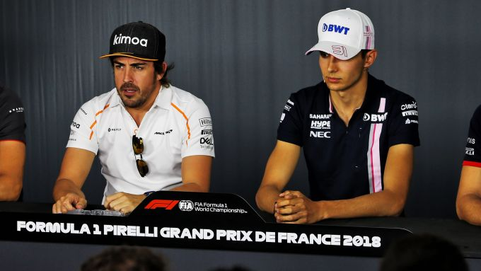 La coppia piloti 2021 Alpine: Fernando Alonso ed Esteban Ocon