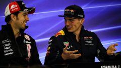 La coppia piloti 2021 Mercedes: Sergio Perez e Max Verstappen