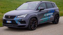 La Cupra Ateca a metano realizzata da Ecomotive Solutions e Autogas Italia per Snam4mobility
