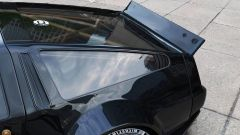 La DeLorean attualizzata: anche spoiler posteriore