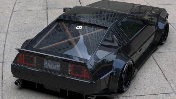 La DeLorean attualizzata da un 3d artist brasiliano