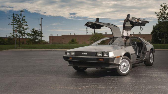 La DeLorean DMC-12 di Ritorno al Futuro