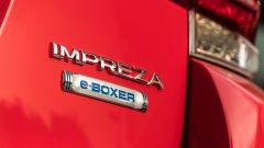 La dicitura non lascia spazio a dubbi: Subaru Impreza diventa e-Boxer